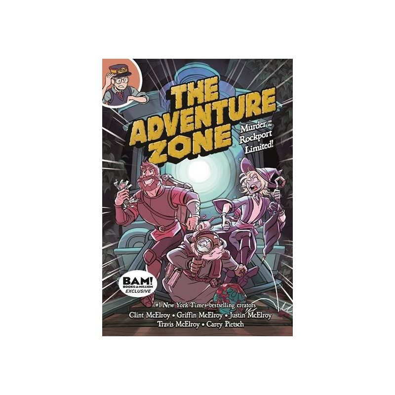 The Adventure Zone - Murder on the Rockport  - Limited - by Clint McElroy and Griffin McElroy and Justin McElroy